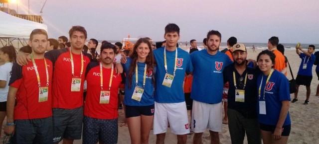 U. de Chile logró destacada participación en Beach Games – Aracaju 2015