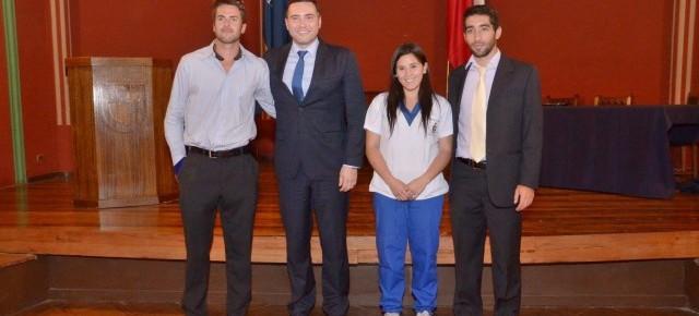 U. de Chile destacó en premiación de Nacional Fenaude