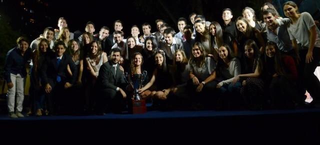 En Noche del Deporte Azul 2015 se reconoció lo mejor del deporte durante este año en la U. de Chile