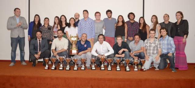 Universidad de Chile logró el primer lugar general en competencias de Fenaude RM