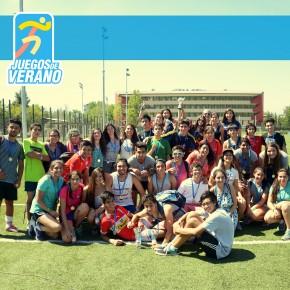 Cerca de 200 estudiantes participaron de los Juegos de Verano 2016