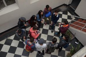 Piscina de la Universidad de Chile abrió sus puertas en Día del Patrimonio Cultural