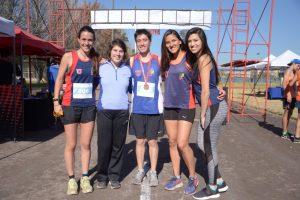 Fenaude RM Cross Country: Universidad de Chile obtiene un oro y un bronce