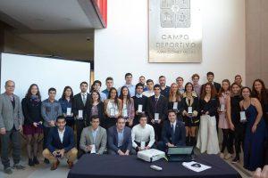 40 estudiantes de la U. de Chile fueron beneficiados con la Beca de Excelencia Deportiva