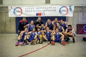 Básquetbol: la selección de hombres de la Chile gana los LDES RM y se clasificó al nacional