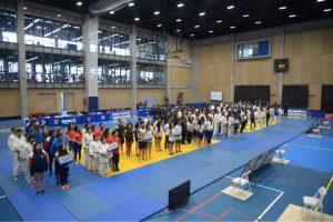 Comenzaron los campeonatos nacionales de natación y judo organizados por la Universidad de Chile