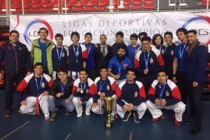 U. de Chile obtiene primer lugar en hombres y en mujeres en 2° zonal de taekwondo LDES