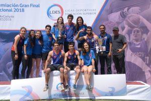 La Universidad de Chile logró el bicampeonato nacional en atletismo