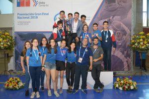 Universidad de Chile se corona campeona nacional de Taekwondo en hombres