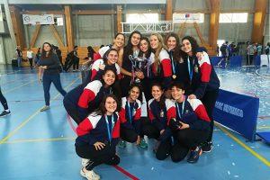 Selección de vóleibol mujeres logró el bicampeonato nacional de Ligas Deportivas de Educación Superior
