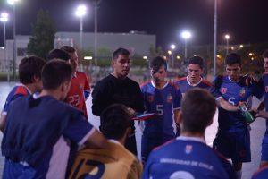 Selección de futsal de la U venció a Deportes Valdivia en torneo cuadrangular de pretemporada