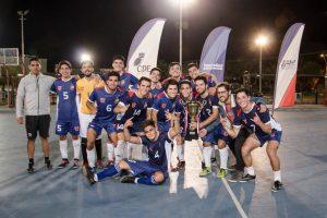 Universidad de Chile derrotó a Magallanes y se quedó con la copa en cuadrangular de futsal