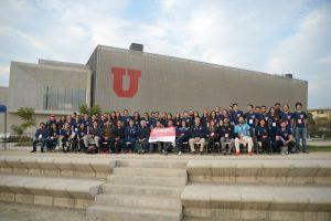 43 estudiantes de la U. de Chile son capacitados en curso de primeros auxilios en el rugby