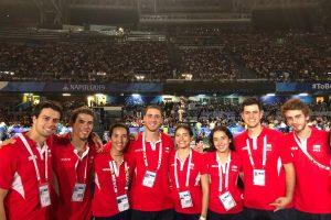 11 estudiantes de la U representaron a Chile en Universiadas de Nápoles