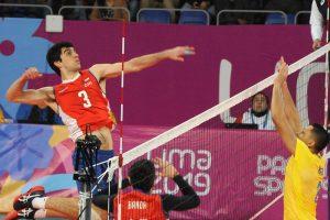 Gabriel Araya: el estudiante de kinesiología de la U que juega por Chile en el vóleibol