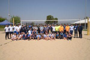Inicia Campeonato Nacional Universitario de Vóleibol Playa 2019 organizado por la U. de Chile.