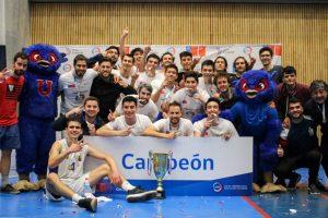 U. de Chile se quedó con la copa del clausura LDES de Básquetbol hombres