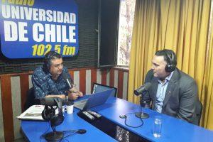 Radio Universidad de Chile: entrevista a Daniel Muñoz Quevedo