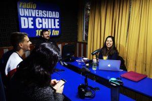 Radio U. de Chile: Entrevista a Nashla Manzur y Emiliano Márquez