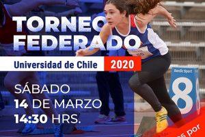 La Universidad de Chile realizará su primer torneo federado del año este 14 de marzo