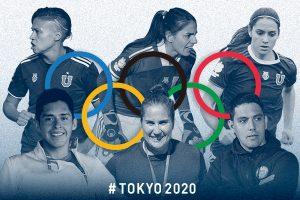 Representantes de la Universidad de Chile participarán en Juegos Olímpicos de Tokio