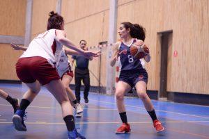 Selección de básquetbol de la Universidad de Chile participará en la Liga Nacional Femenina 2021