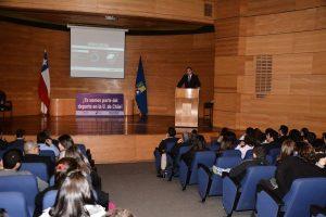 Mechones Deportistas 2016 participaron en ceremonia de bienvenida