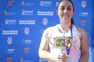 JOE 2018: Campus Sur y FCFM se consagraron campeones en Tenis