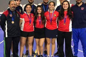 Tenimesistas de la U. de Chile suben al podio en Nacional Fenaude