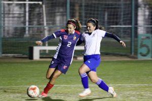 LDES fútbol: U. de Chile mujeres empató ante USACH en Juan Gómez Millas