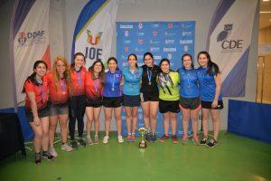 JOE 2019: Medicina en mujeres e Ingeniería en hombres se quedaron con el primer lugar en tenis de mesa