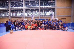 U. de Chile organizó Campeonato Nacional Universitario Fenaude de Taekwondo